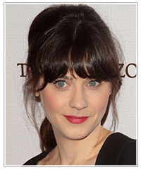 Zooey Deschanel hairstyles